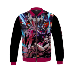 Dragon Ball Z Bardock and 1st Form Frieza Intense Bomber Jacket