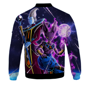 Dragon Ball Z Beerus Whiz Awesome Bomber Jacket
