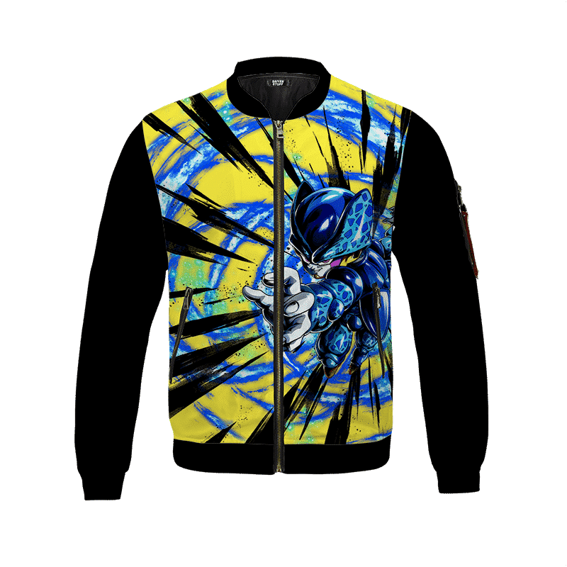 Dragon Ball Z Cell Junior Cute Graphic Design Bomber Jacket