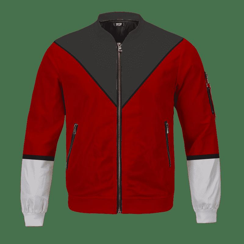 Dragon Ball Z Cosplay Team Universe 11 Costume Bomber Jacket