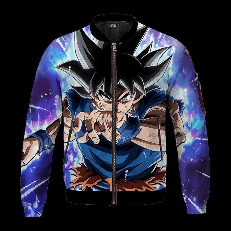 Dragon Ball Z Galactic Goku Ultra Instinct Bomber Jacket