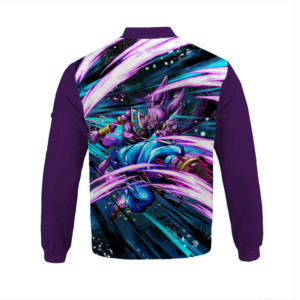 Dragon Ball Z God Of Destruction Beerus Awesome Bomber Jacket
