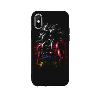 Dragon Ball Z Goku God SSJ4 iPhone 12 (Mini, Pro & Pro Max) Case