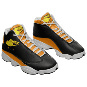 Dragon Ball Z Nimbus Air Nike Parody Basketball Sneakers
