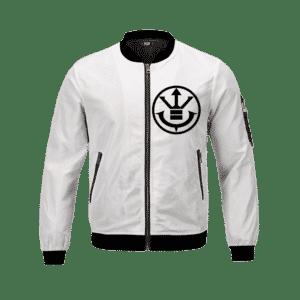 Dragon Ball Z The Saiyan Royal Family Symbol Bomber Jacket