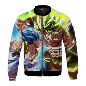 Dragon Ball Z Vegito Broly Super Fight Bomber Jacket