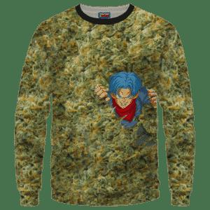Future Trunks Stuck in a Pool of Marijuana Kush 420 Crewneck Sweater