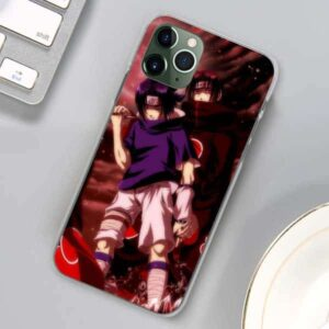 Itachi And Sasuke Uchiha iPhone 12 (Mini, Pro & Pro Max) Case