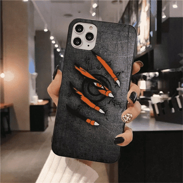 Kurama Claw Scratches Eight Trigrams Seal iPhone 12 Case