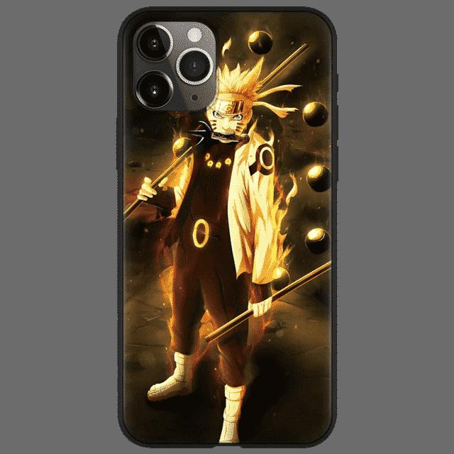 Naruto Uzumaki Sage of Six Paths Mode iPhone 12 Case