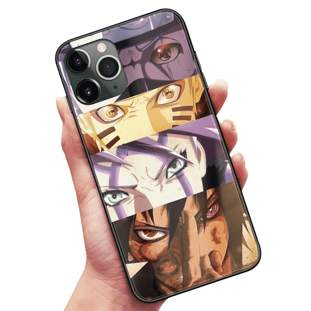 Powerful Eyes Of Team 7 iPhone 12 (Mini, Pro & Pro Max) Cover