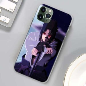 Sasuke Heavens' Curse Mark Sharingan iPhone 12 Case