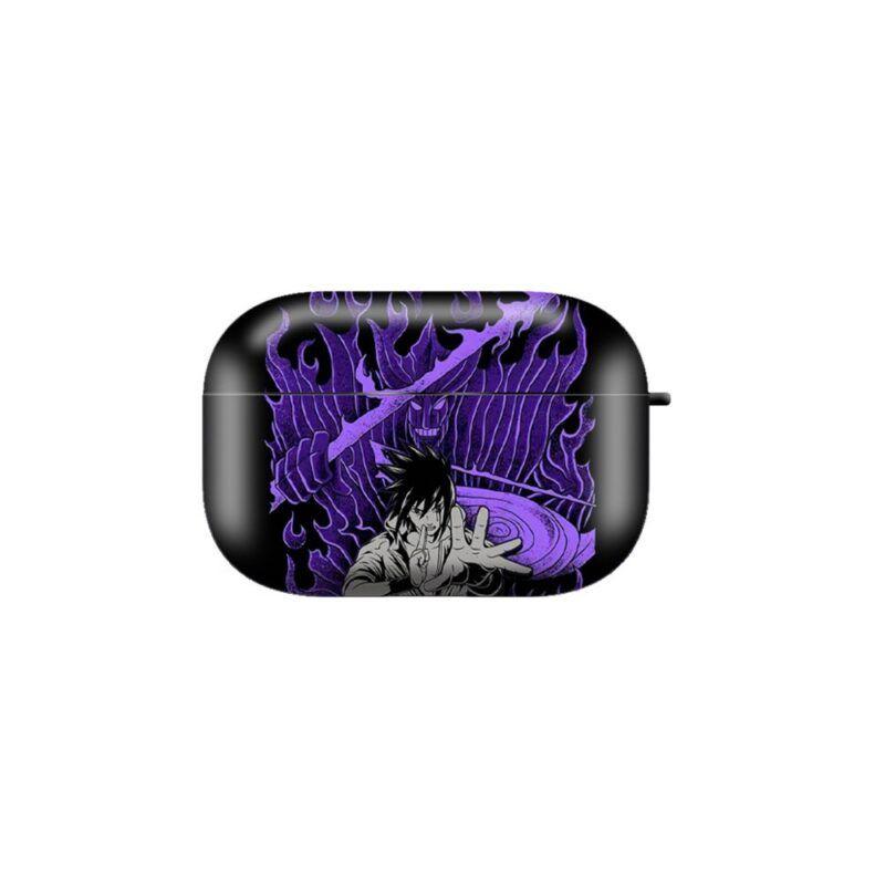 Susanoo Sasuke Uchiha Purple Airpods & Airpods Pro Case
