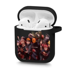 The Exiled Akatsuki Gang Good Times Black Airpods Case