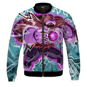 Dragon Ball Z Toppo Awesome Camouflage Dokkan Bomber Jacket