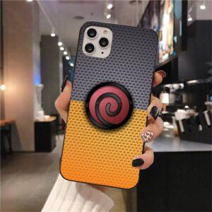 Uzumaki Clan Spiral Logo iPhone 12 (Mini, Pro & Pro Max) Case