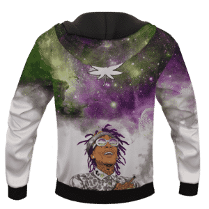 Whiz Khalifa Dreaming About Galaxy Marijuana Pullover Hoodie