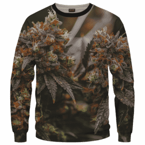 Wonderful Marijuana Kush Nugs All Over Print Sweatshirt