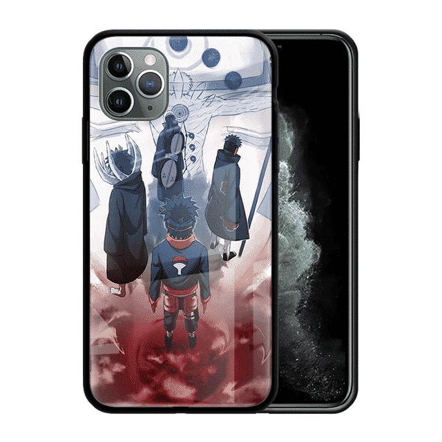 Obito Uchiha All Forms iPhone 12 (Mini, Pro & Pro Max) Case