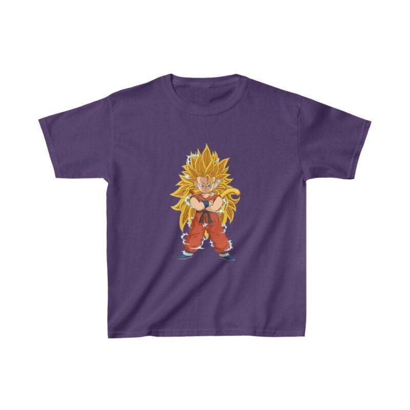 Dragon Ball Z Goku Super Saiyan 3 Cute Kids T-shirt