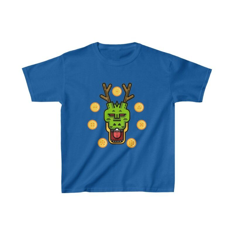 Dragon Ball Eternal Shenron Seven Dragon Balls Kids T-shirt