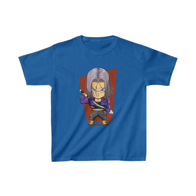 Dragon Ball Future Trunks Chibi Dope Art Kids T-shirt