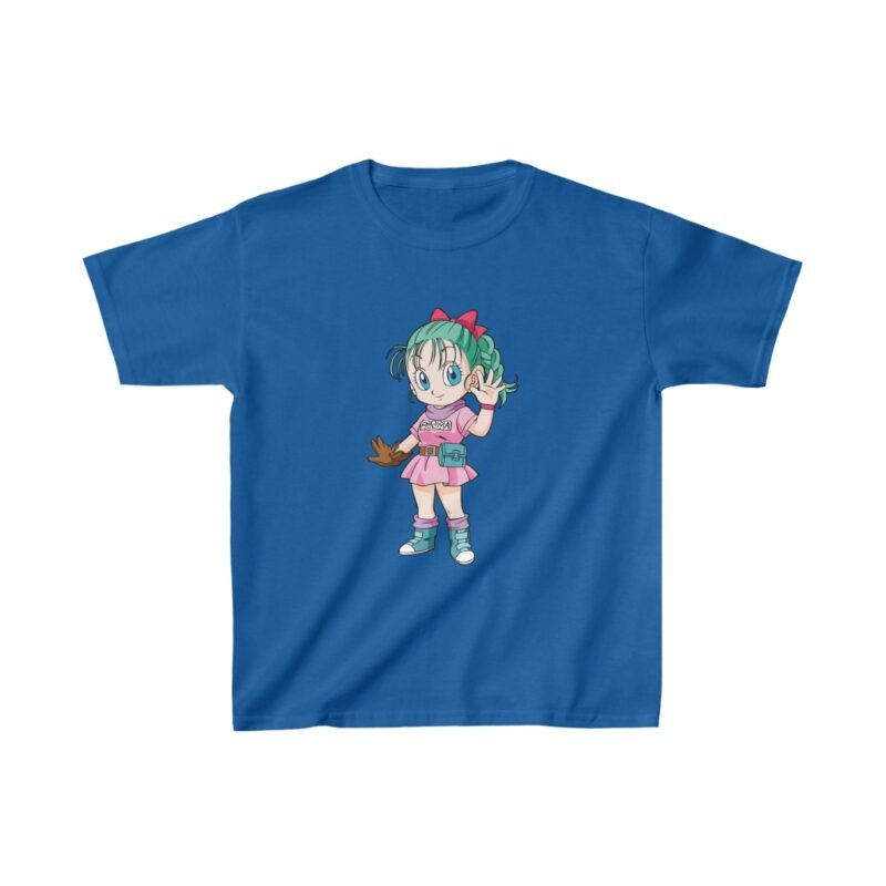 Dragon Ball Z Adorable Chibi Bulma Cute Kids T-shirt