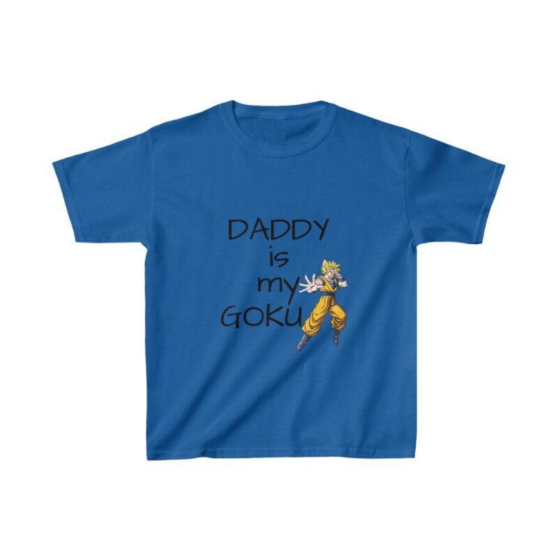 Dragon Ball Z Daddy Is My Goku Adorable Kids T-shirt