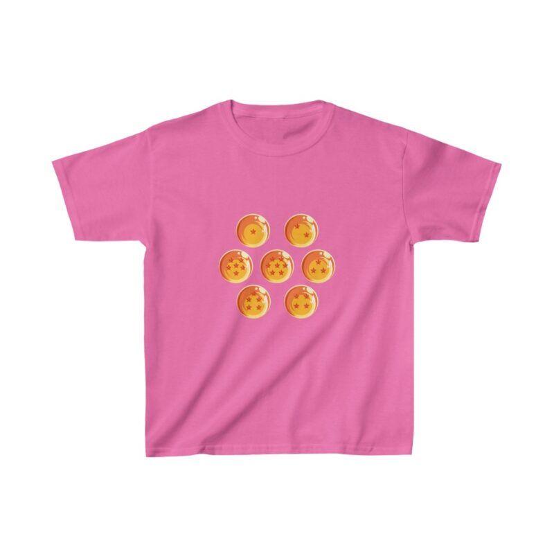 DBZ Legendary Shenron Seven Earth Dragon Balls Kids T-shirt