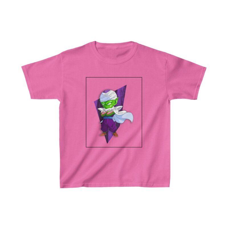 Dragon Ball Z Cute Chibi Piccolo Purple Awesome Kids T-shirt