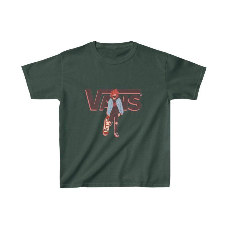 DBZ Super Saiyan SSJ4 Goku Vans Inspired Kids T-shirt