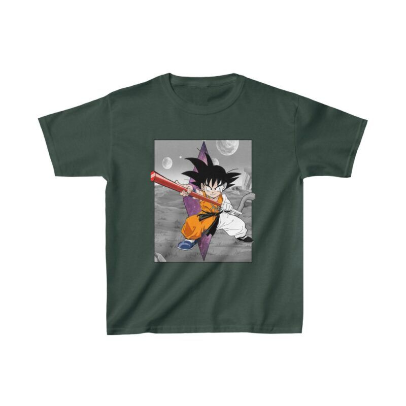 Dragon Ball Z Kid Goku Awesome Pose Cute Kids T-shirt