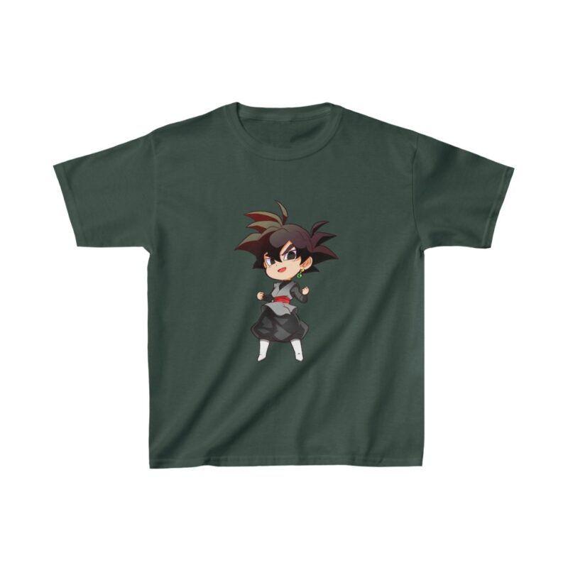 Dragon Ball Goku Black Cute Chibi Awesome Kids T-shirt