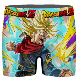 DBZ Angry Future Trunks Cool Dokkan Art Men's Brief