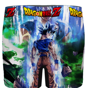 DBZ Goku Back Pose Awesome Ultra Instinct Men's Brief - back