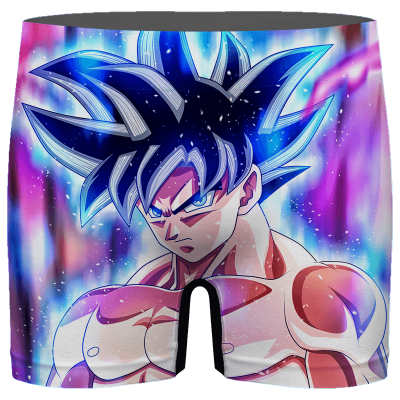 Dragon Ball Z Goku Ultra Instinct Cool Colorful Men's Boxer