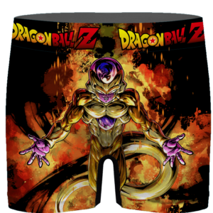 DBZ Golden Frieza Cool Pose Orange Aura Men's Brief