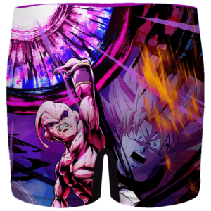DBZ Kid Buu Destroyer Awesome Dokkan Men's Boxer Brief