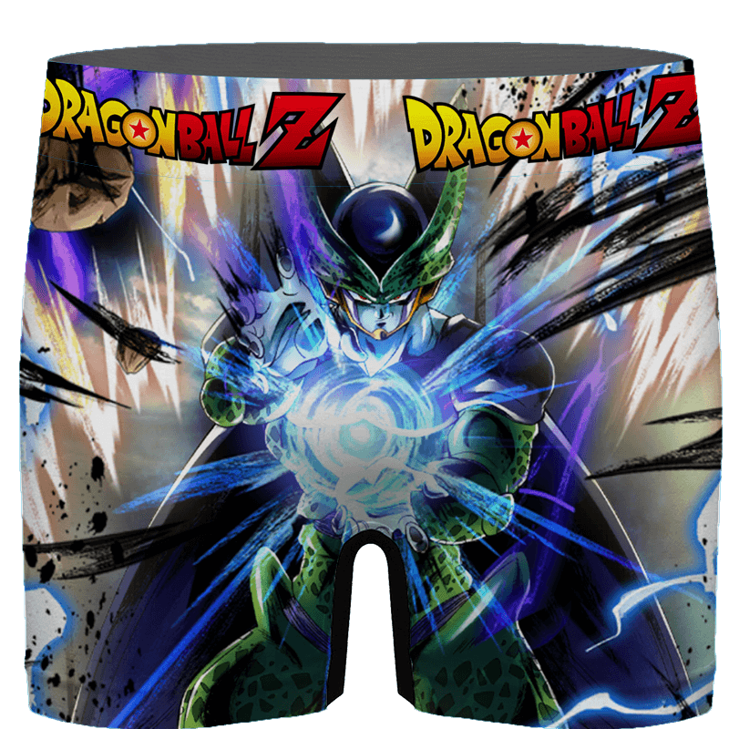 DBZ Perfect Cell Charging Up Awesome Art Men's Brief