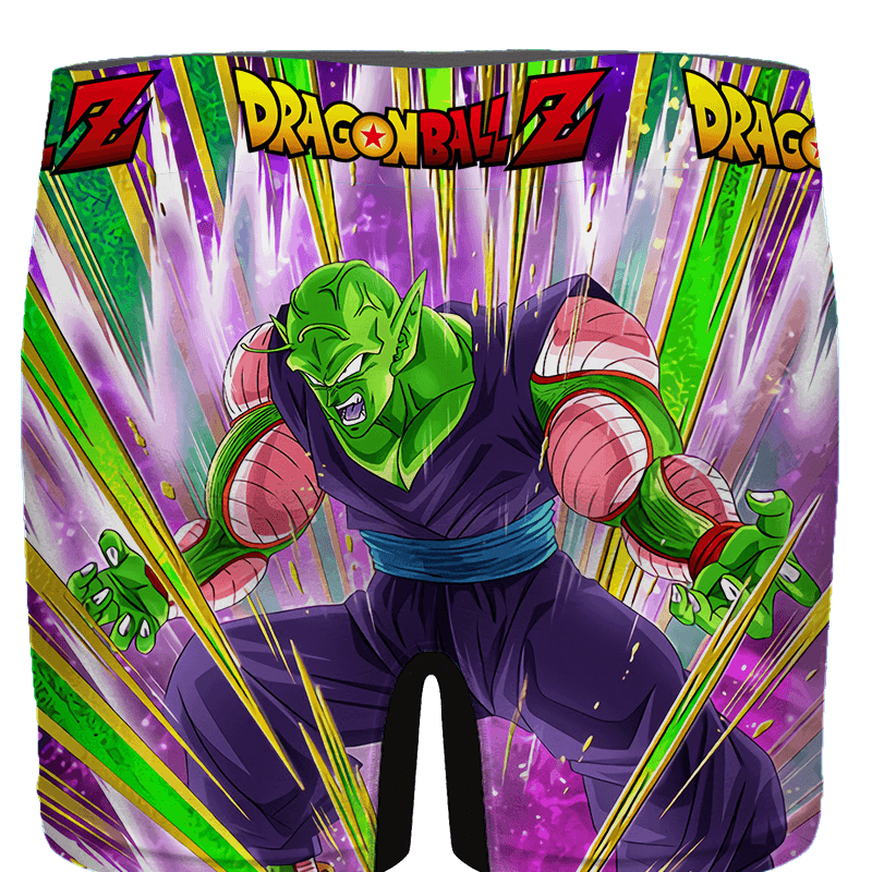 DBZ Piccolo Amazing Dokkan Art Charged Up Men's Brief - back