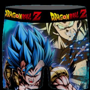 DBZ Super Saiyan Gogeta Blue Broly Dope Art Men's Boxer Brief