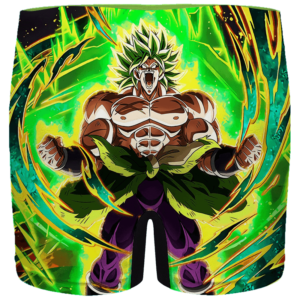 Dragon Ball Broly Charged Up Dokkan Art Men's Boxer