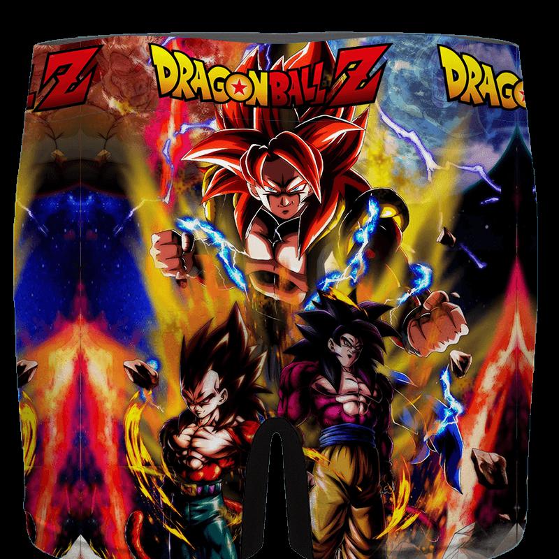 Dragon Ball GT SSJ4 Goku Vegeta Xeno Gogeta Men's Boxer - back