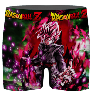 Dragon Ball Goku Black SSJ Rose Card Art Men's Underwear