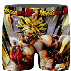 Dragon Ball Legends Super Saiyan Broly Red Costume Men's Brief