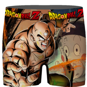 Dragon Ball Triclops Chiaotzu Awesome Card Art Men's Underwear