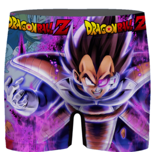 Dragon Ball Vegeta Base Form Purple Awesome Men's Brief