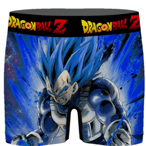 Dragon Ball Vegeta Super Saiyan Blue Charged Up Men's Underwear