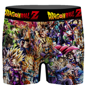 Dragon Ball Z Family Of Characters Cool Dope Men's Boxer