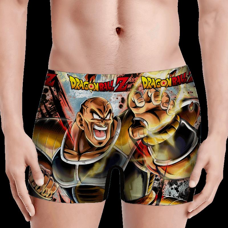 Dragon Ball Z Nappa General Of The Saiyan Army Amazing Men's Boxer